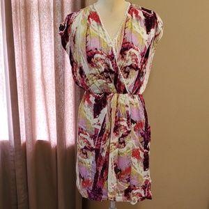 Antonio Melani faux wrap dress size 6